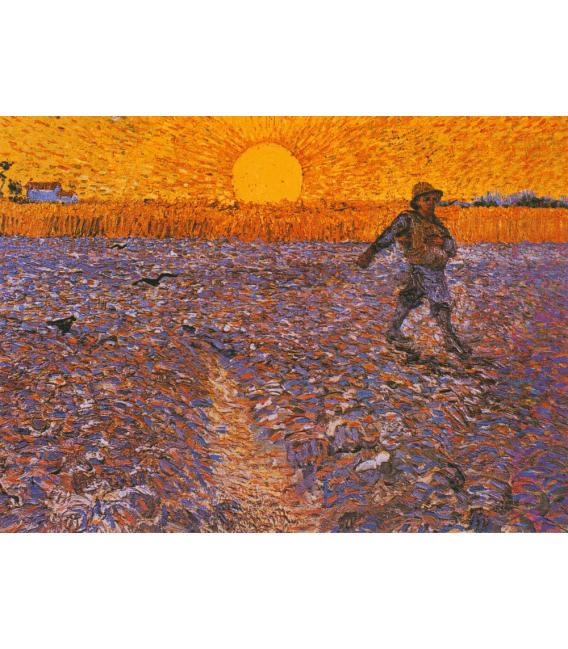 Stampa su tela: Vincent Van Gogh - Il Seminatore