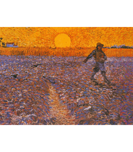 Vincent Van Gogh - The Sower. Printing on canvas