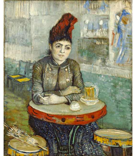 Printing on canvas: Vincent Van Gogh - In the café
