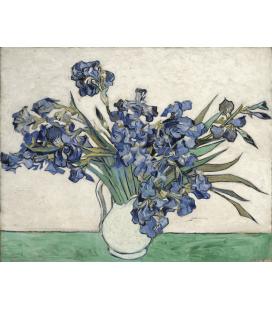 Vincent Van Gogh - Irises. Stampa su tela