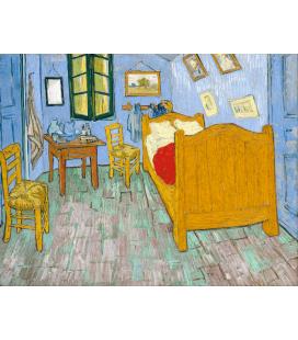 Vincent Van Gogh - La camera di Vincent ad Arles. Stampa su tela