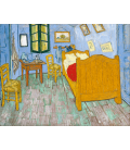 Printing on canvas: Vincent Van Gogh - The Bedroom. Arles
