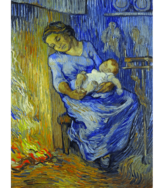 Printing on canvas: Vincent Van Gogh - The Man is at Sea