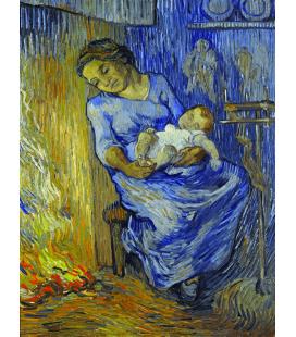 Vincent Van Gogh - L'uomo è nel mare. Stampa su tela