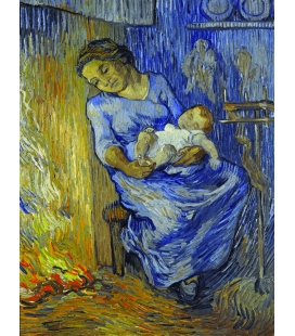 Vincent Van Gogh - The Man is at Sea. Printing on canvas