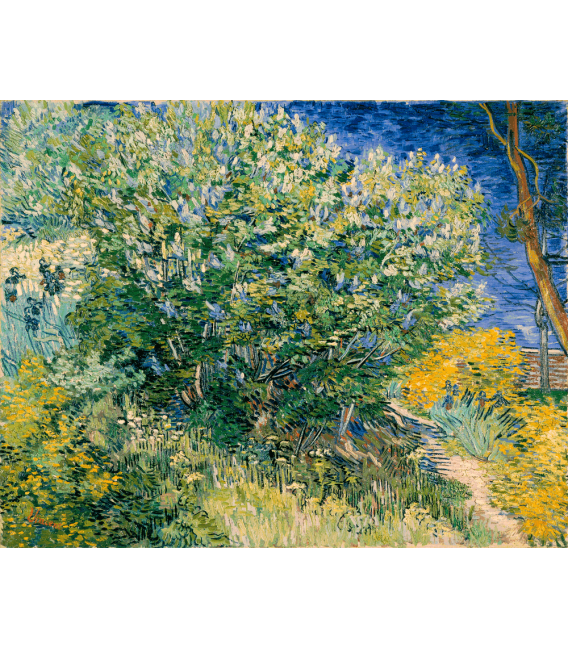 Stampa su tela: Vincent Van Gogh - Mandorlo in fiore