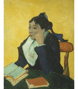 Vincent Van Gogh - L'Arlésienne. Printing on canvas