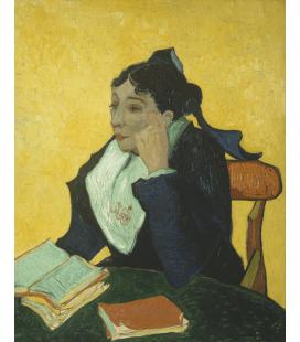 Vincent Van Gogh - L'arlesienne. Stampa su tela