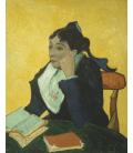 Stampa su tela: Vincent Van Gogh - L'arlesienne