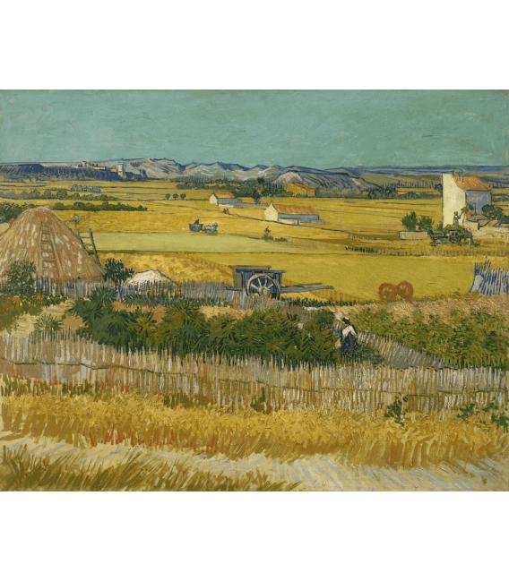 Printing on canvas: Vincent Van Gogh - The harvest