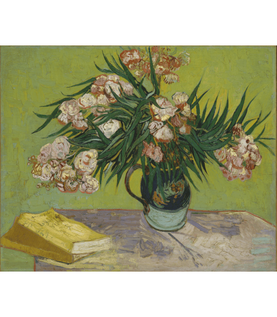 Printing on canvas: Vincent Van Gogh - Still life with oleander
