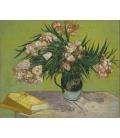 Stampa su tela: Vincent Van Gogh - Natura morta con oleandro