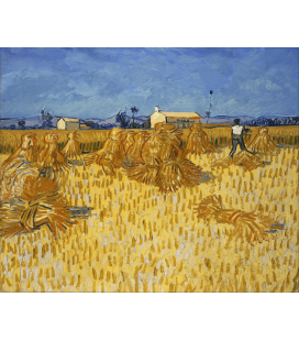 Printing on canvas: Vincent Van Gogh - Corn Harvest in Provence