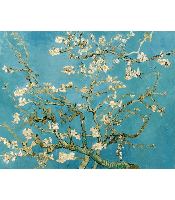 Stampa su tela: Vincent Van Gogh - Rami di Mandorlo in Fiore
