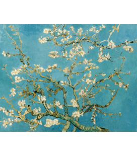 Printing on canvas: Vincent Van Gogh - Blossoming Almond Branch