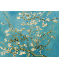 Vincent Van Gogh - Rami di Mandorlo in Fiore. Stampa su tela
