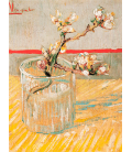 Printing on canvas: Vincent Van Gogh - Blossoming Almond Branch in a Glass
