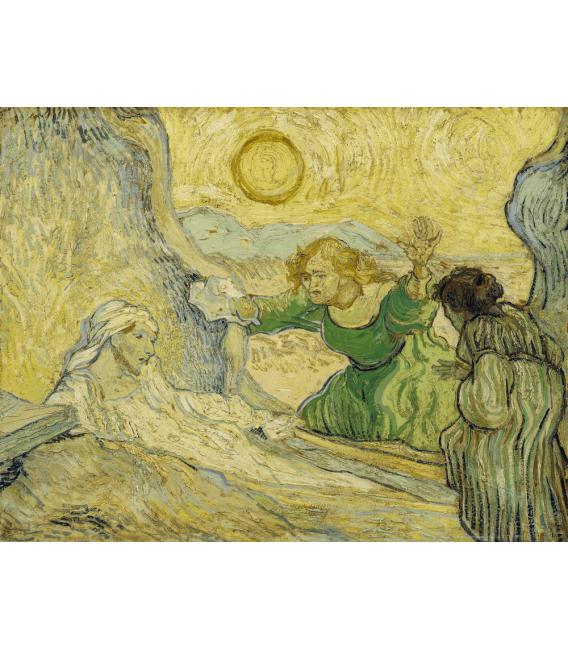 Stampa su tela: Vincent Van Gogh - Resurrezione di Lazzaro