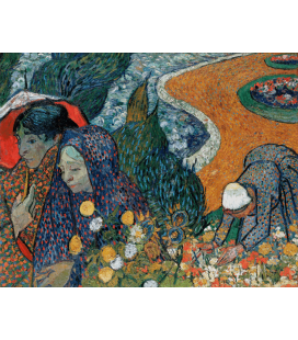 Printing on canvas: Vincent Van Gogh - Reminiscence of the Garden at Etten