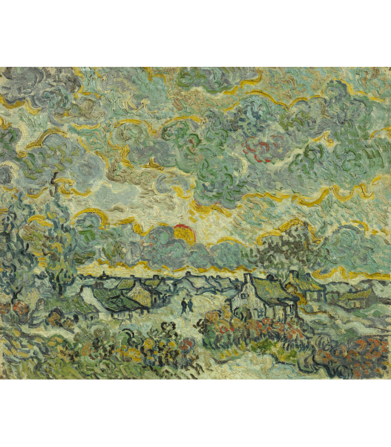 Stampa su tela: Vincent Van Gogh - Reminiscence of Brabant