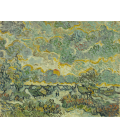 Vincent Van Gogh - Reminiscence of Brabant. Printing on canvas