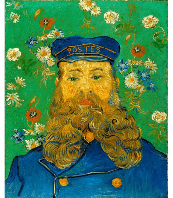 Stampa su tela: Vincent Van Gogh - Ritratto di Joseph Roulin