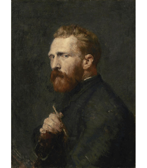 Printing on canvas: Vincent Van Gogh - Portrait of John Peter Russell