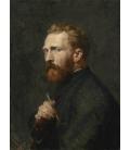 Vincent Van Gogh - Ritratto di John Peter Russell. Stampa su tela