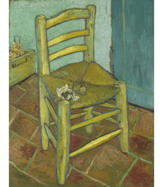 Printing on canvas: Vincent Van Gogh - Chair