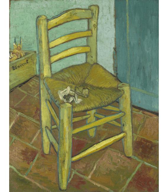 Stampa su tela: Vincent Van Gogh - Sedia