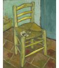 Vincent Van Gogh - Sedia. Stampa su tela