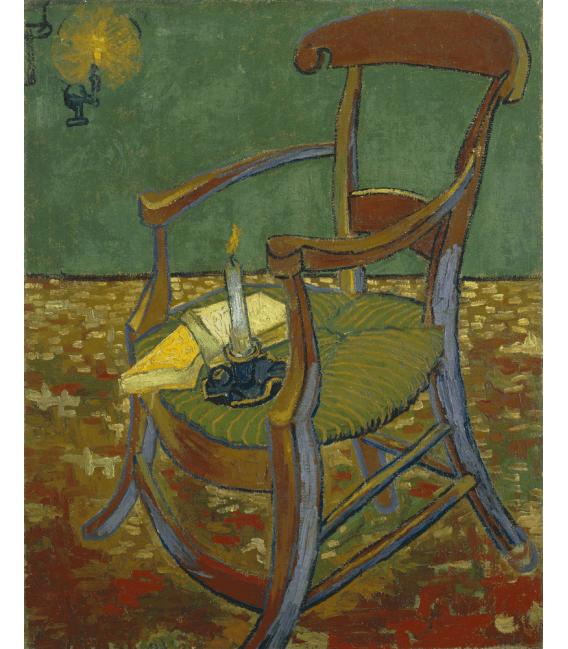 Stampa su tela: Vincent Van Gogh - Sedia di Gauguin