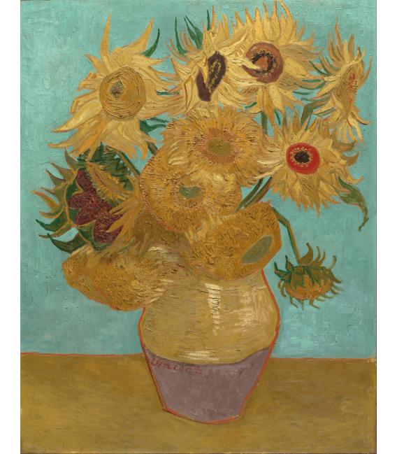 Printing on canvas: Vincent Van Gogh - Sunflowers series
