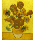 Vincent Van Gogh - serie Girasoli, Natura Morta con Girasoli. Stampa su tela