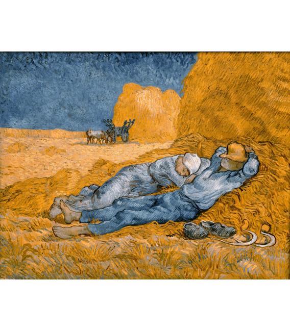 Stampa su tela: Vincent Van Gogh - Siesta.jpeg