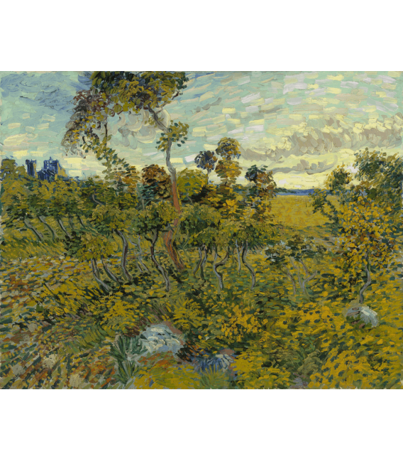 Printing on canvas: Vincent Van Gogh - Sunset at Montmajour