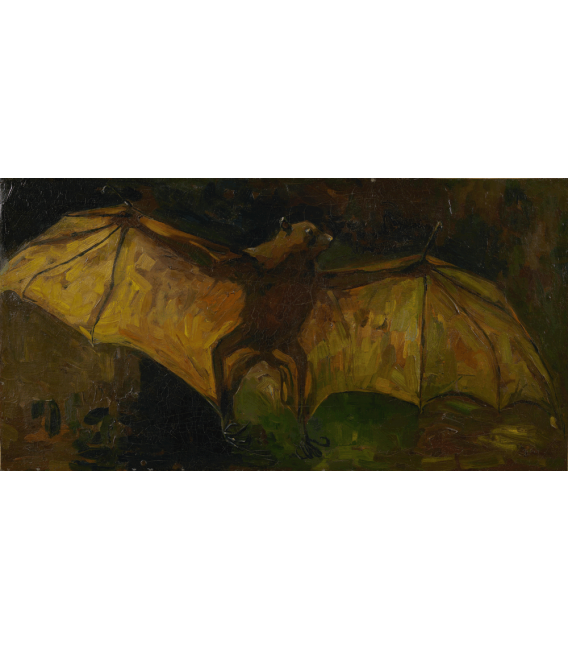 Printing on canvas: Vincent Van Gogh - Flying Fox