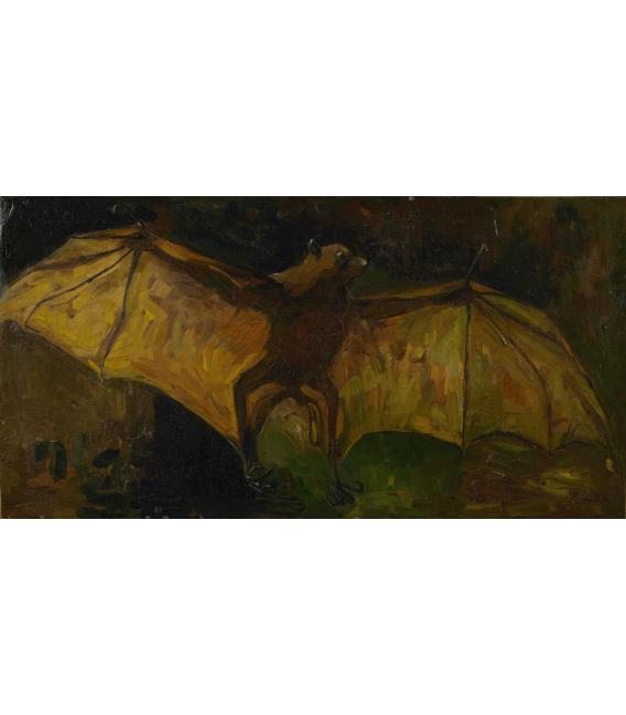 Stampa su tela: Vincent Van Gogh - Volpe volante