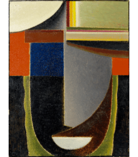 Alexej von Jawlensky - Abstract Head. Printing on canvas