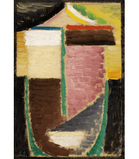 Alexej von Jawlensky - Abstract Head, On awakening. Printing on canvas