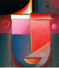 Printing on canvas: Alexej von Jawlensky - Introspective Pink Light