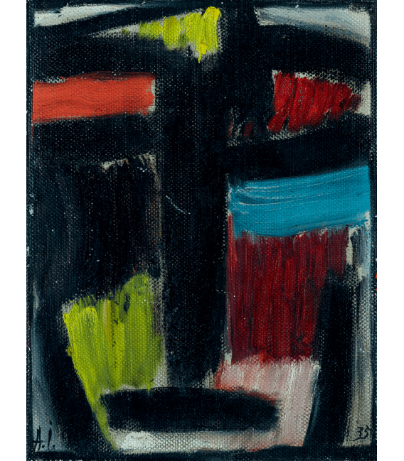Printing on canvas: Alexej von Jawlensky - Meditation