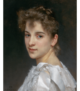 Printing on canvas: William Adolphe Bouguereau - Gabrielle Cot