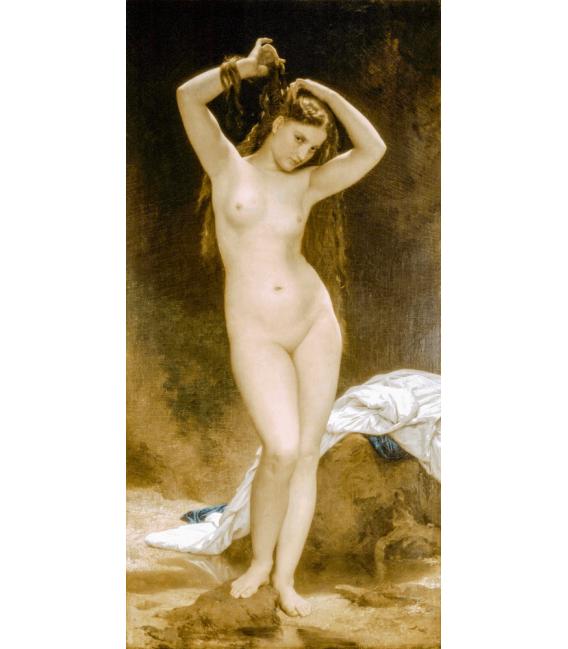 Stampa su tela: William Adolphe Bouguereau - Il nido della vespa
