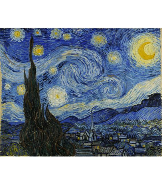 Stampa su tela: Notte Stellata - Vincent Van Gogh