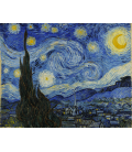 Vincent Van Gogh - Starry Night. Printing on canvas