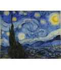 Vincent Van Gogh - Notte Stellata. Stampa su tela