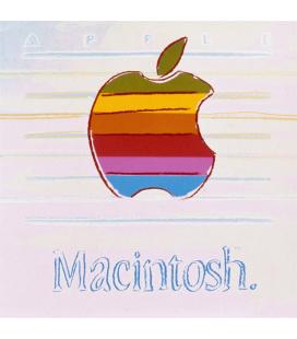 Andy Warhol - Apple. Stampa su tela