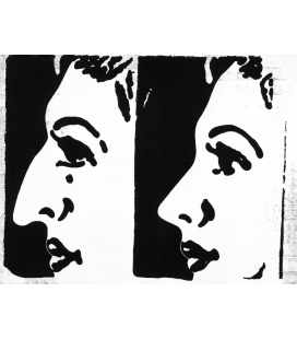 Andy Warhol - Before and After. Stampa su tela