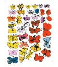 Andy Warhol - Butterflies. Stampa su tela